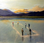 Curling Loch Loskin