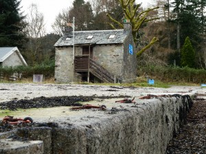 Old Ferry House from the slipway