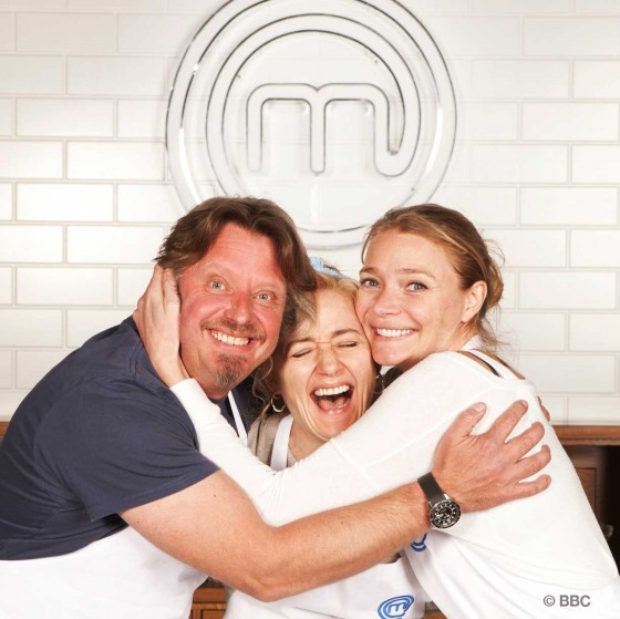 Finalists Charley Boorman & Jodie Kidd with Sophie Thompson