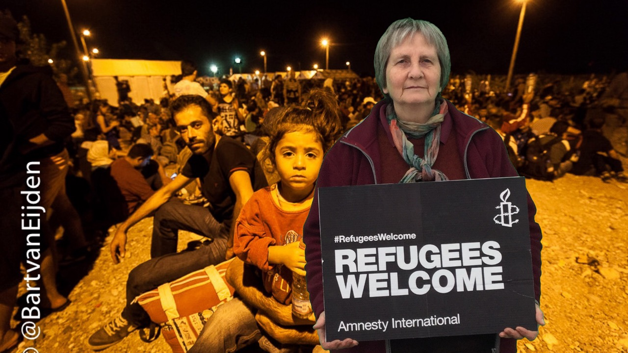 Popup solidaritystudio promotes refugeeswelcome ardentinny org