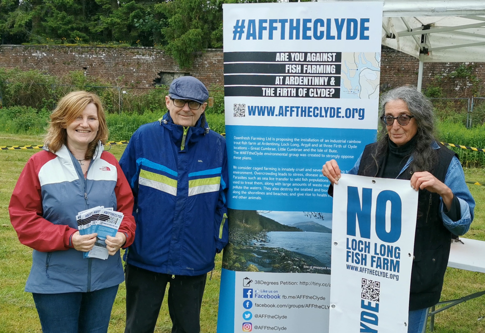 AfftheClyde hits the road - ardentinny org