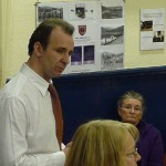 Residents express their views at public meeting