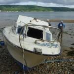 MoD Police retrieve sunken boat