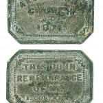 Ardentinny Church Communion Token 1871