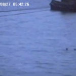 Loch Long webcam catches runaway tug