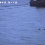 Loch Long webcam catches runaway tug