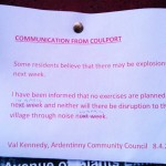Communication from Coulport