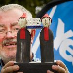 Ardentinny artist puts his stamp on historic referendum campaign