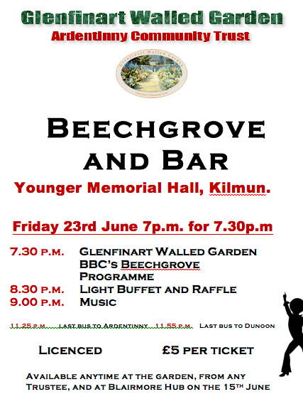 Beechgrove Event and Open Garden 23rd – 25th June