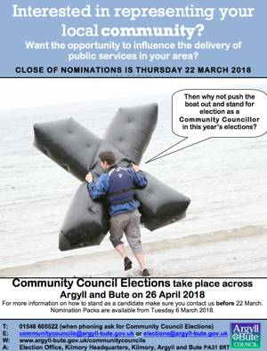 Community Council Elections 2018