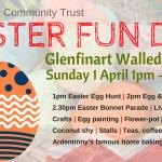 This Sunday - Easter Fun Day @ Glenfinart Walled Garden