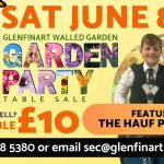 Garden Party Table Sale this Saturday
