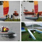 The Ardentinny Archives: Sept 2007 - Capsized catamaran off Ardentinny