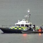 Couple rescued from Loch Long inflatable dinghy