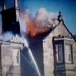 Historical footage of Glenfinart House fire